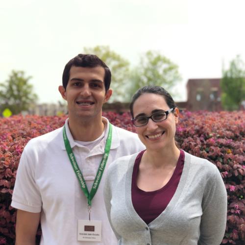 Yousef Abu-Salha and Nicole Damari