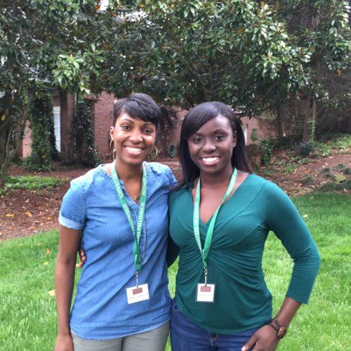 Ashley Appiagyei and Celeste Brown