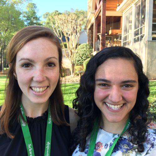 Katherine Mulligan and Yasamin Sanii