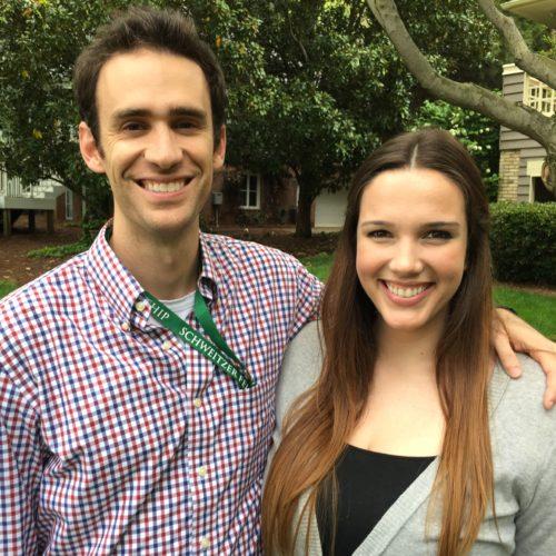 Nick Baker and Sarah Brobeck