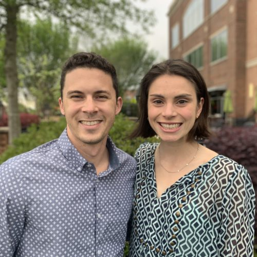 Michael Batres and Emma Astrike-Davis