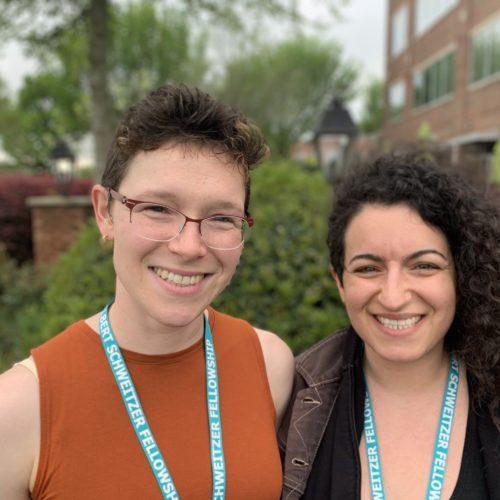 Margo Faulk and Noa Nessim
