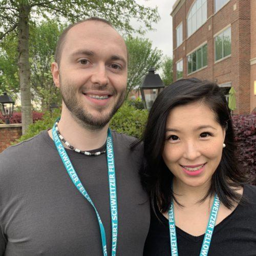Damian Slaczka and Dani Fox
