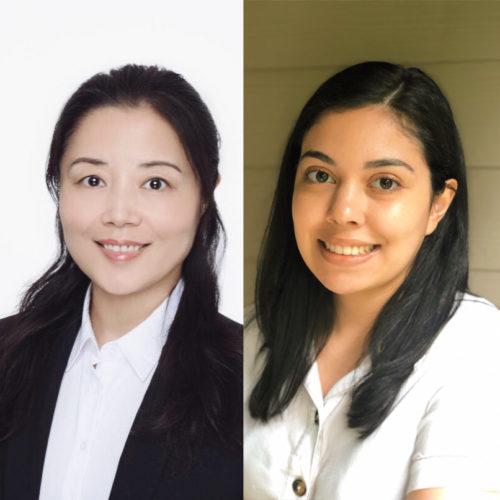Zhaojing Liu and Katherine Reyes-Rodriguez