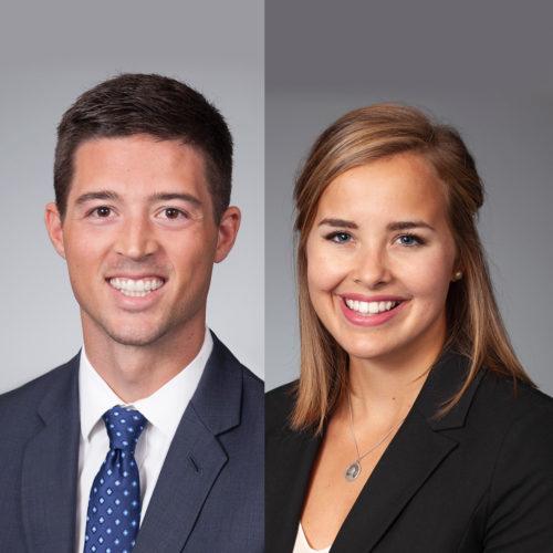 Josh Stewart and Victoria Long